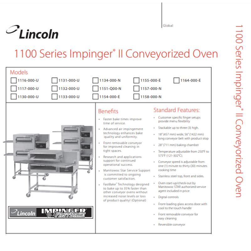 1100 Series Oven