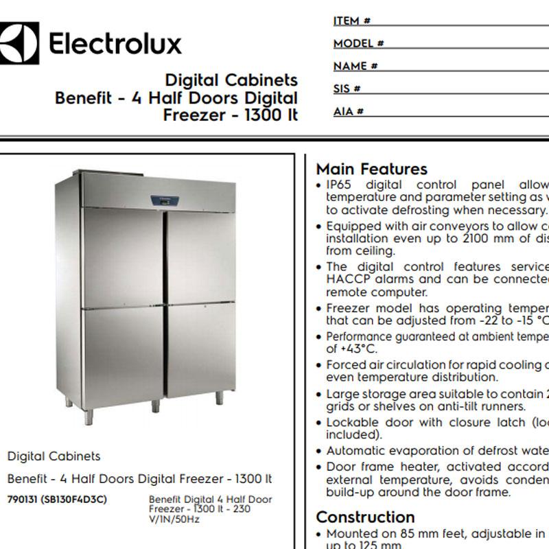 4 Half Doors Digital Refrigerator