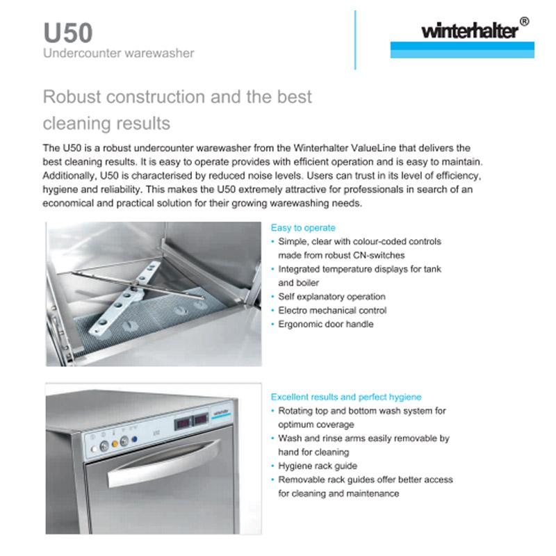 Conveyor Dishwasher Catalogue