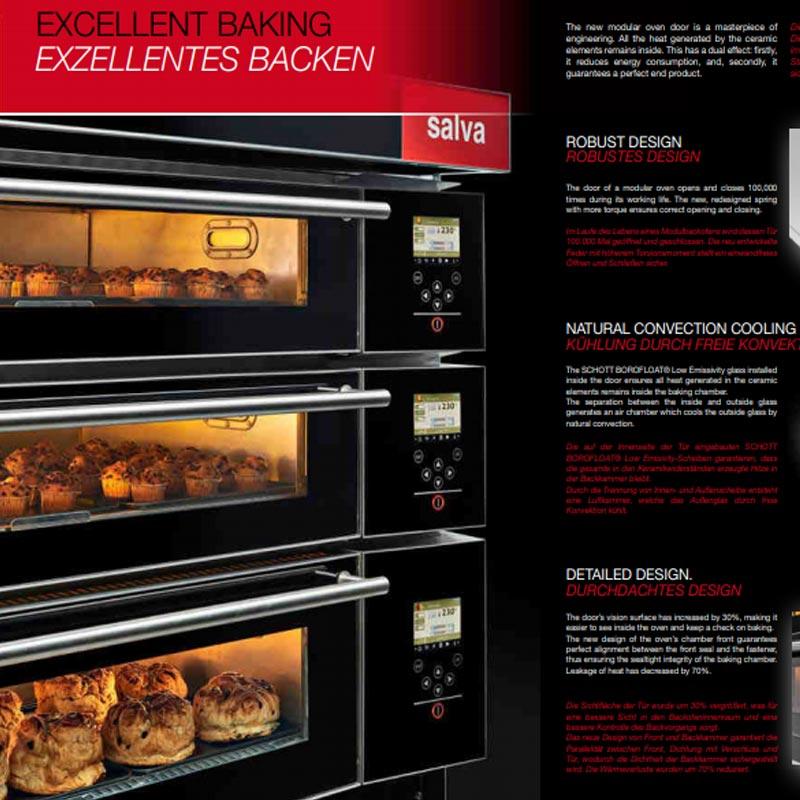 Modular Deck Oven for Bakery